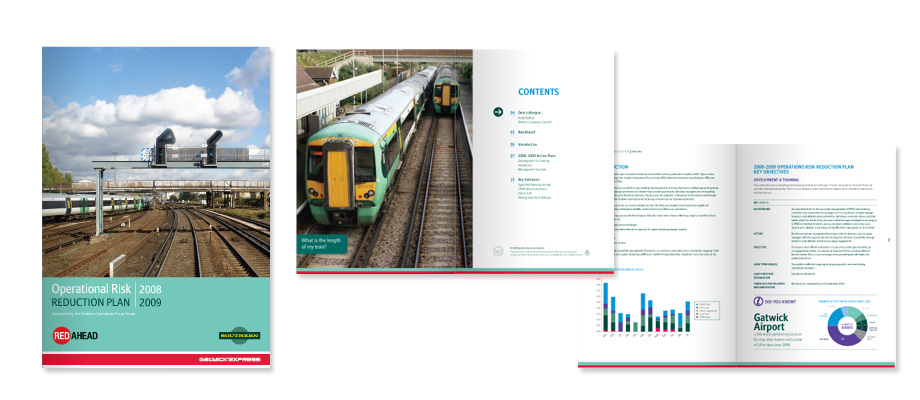 Portfolio: Southern Rail reports and manuals