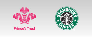 The Prince's Trust and Starbucks